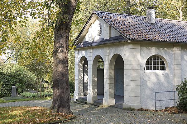 Trauerhalle Altstadtfriedhof Mülheim/Ruhr