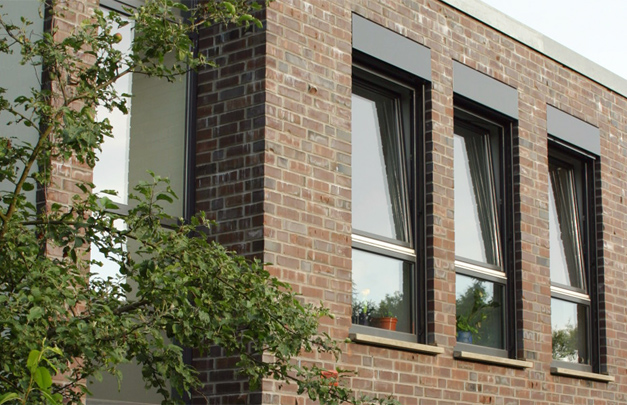Neubau eines Reihenhauses in Mülheim an der Ruhr
