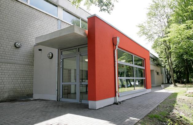 Foyeranbau Sporthalle in Mülheim an der Ruhr
