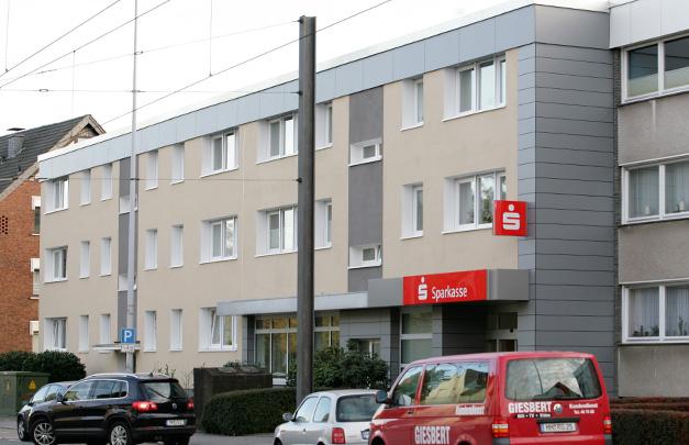 Mehrfamilienhaus Fassadensanierung